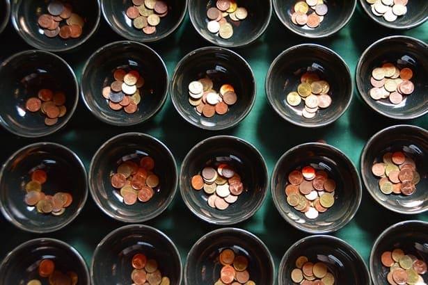 монети в купички