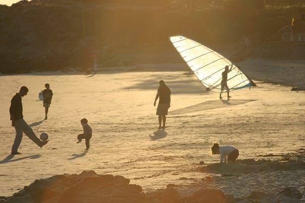 хора на плажа