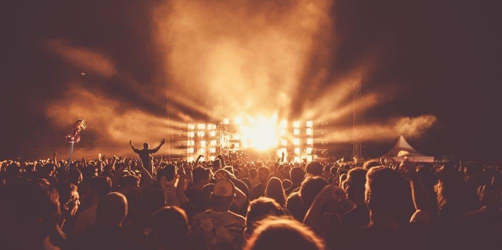 Публика на концерт
