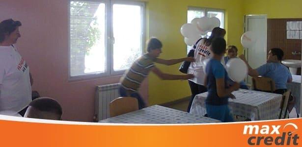 Макс Кредит донесе радост на децата в Козлодуй