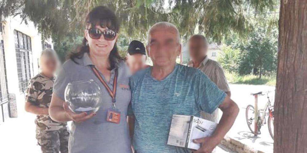 Мъж  спечели награда от Макс Кредит