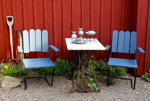 градинска маса и столове
