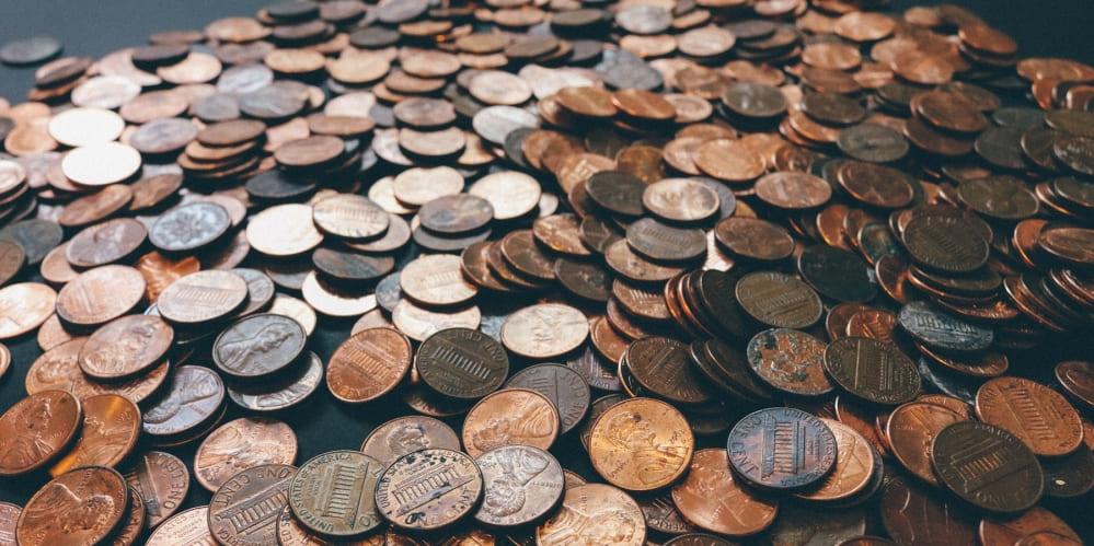 Разпръснати стотинки - евроцентове